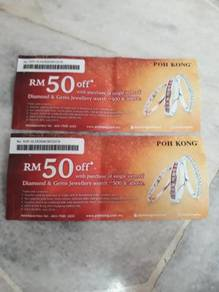 Poh Kong rm50 cash voucher