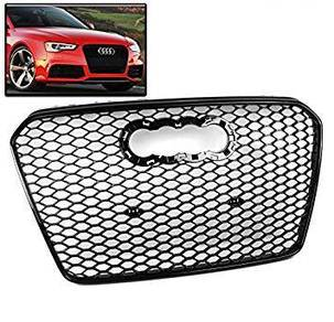 RS5 Grille for Facelift Audi A5 B8.5 - All Black