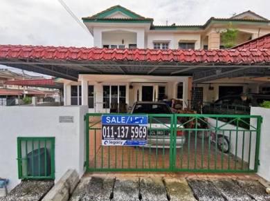 Taman Sri Ampang Ipoh Corner Lot Double Storey Terrace