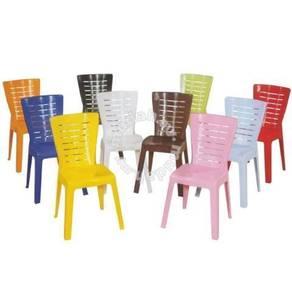 El 701 3v plastic chair kerusi plastic 3v