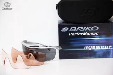 Briko Endure Evo sunglasses - 3 lenses