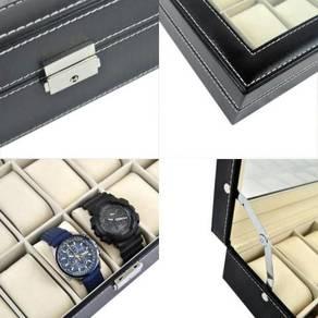 Kotak jam watch box 24 slots 08