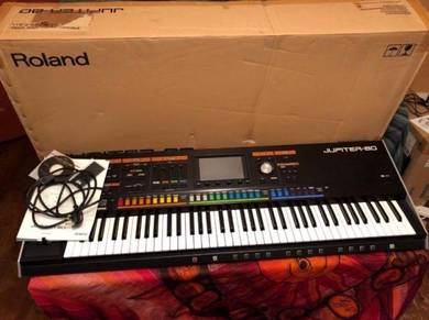 Roland Jupiter 80 Synthesizer Good Condition
