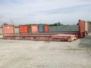 Used 40' Flat Rack Container Parit Raja - Johor