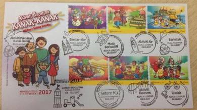First Day Cover Childrens Holiday Stamp Week 2017