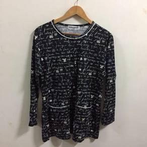 Sonia Rykiel reves button shirt size L vtg