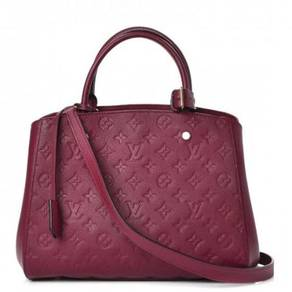 LOUIS VUITTON Empreinte Montaigne MM Raisin