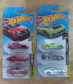 Hotwheels lot all JDM