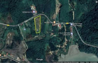Tanah rata tepi jalan Temonyong Langkawi 6.4 ekar