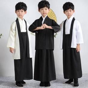 Japan traditional kimono male kid boy costume