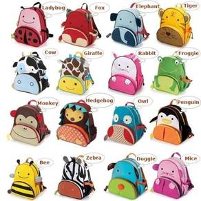 SC16 Giraffe / Cow Backpack Preschool Nursery Kind