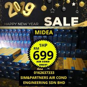 Cny promotion midea aircond air cond 1hp*/699