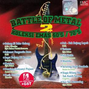 Battle Of Metal 2 Koleksi Emas 60s 70s CD