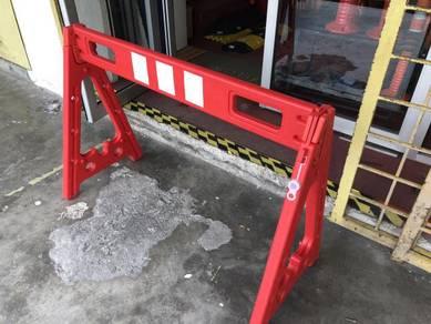 Construction barricade plastic A frame