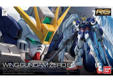Bandai 1/144 RG (017) Wing Gundam Zero EW