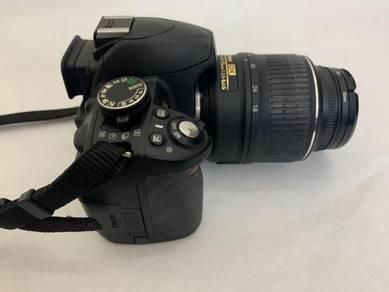 Nikon D3100 3x zoom AF-S DX NIKKOR 18-55mm VR len