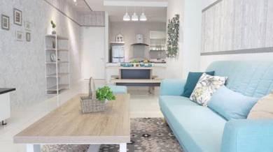 New Fully Furnished with ID unit at Batu Kawa Condominium