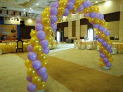 Decoration / Belon Hiasan / Hellium Gas Balloon