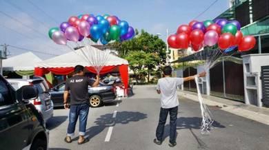 222) Balloon Helium Colourful