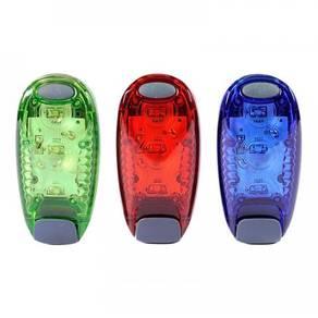 Portable 3 led running safety light