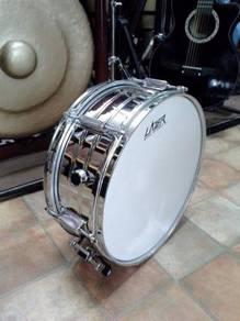 Lazer 14'' inch Metal Snare Drum Set