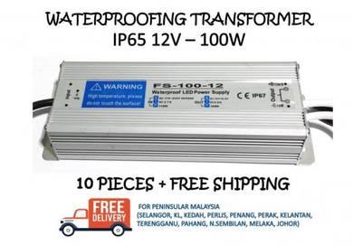 Waterproofing power supply ip65 12v 100w