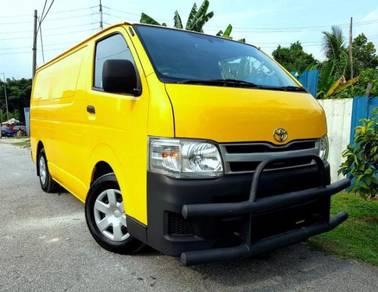 2011 Toyota Hiace 2.5 Diesel (M) Panel Van
