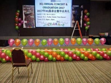 Stage Balloon Deco 00567