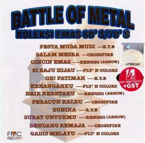 Battle Of Metal Koleksi Emas 60s 70s CD