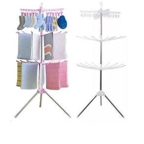 SC17 Three (3) Tiers Foldable Cloth Drying Rack a