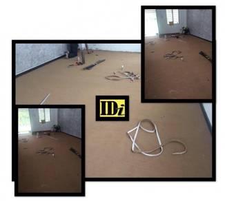 Carpet corak / karpet plain, idi floor /TCTG
