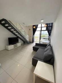 Eko Cheras Duplex Condo ,1R2B F/F, Taman Mutiara , Link Bright MRT