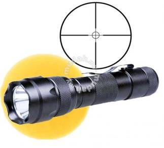 UltraFire 502B CREE Kuning Lampu Pemburu LED Torch
