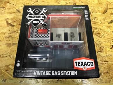 Greenlight Vintage Gas Station Texaco Oil
