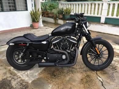 Harley Davidson sportster Iron 883 Upgrade 1200cc