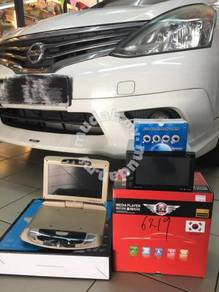 Nissan grand livina DVDplayer roof monitor camera