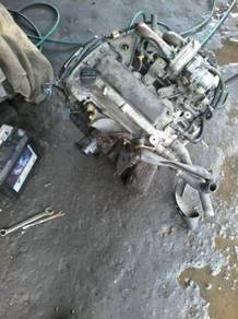 Sparepart enjin L5 L6 EF turbo head blok japan
