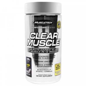 Muscletech Clear Muscle Performance Series fitness