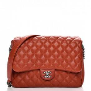 CHANEL Caviar Quilted Medium Rock In Rome Single