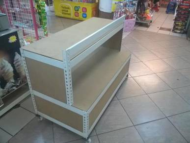 Snack Display Movable Kiosk ( Boltless )