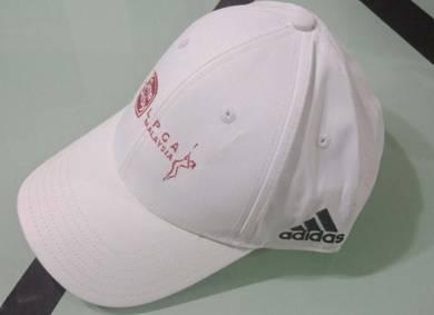 White Adidas Golf Cap