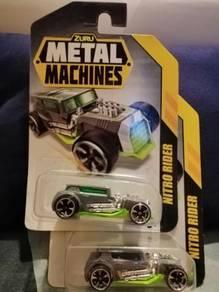 New Nitro Rider Zuru Metal Machines Car