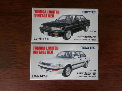 Tomica Limited Vintage toyota corolla se ae92