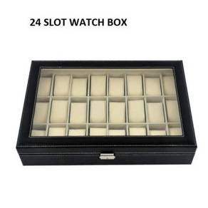 Kotak jam watch box 24 slots 13