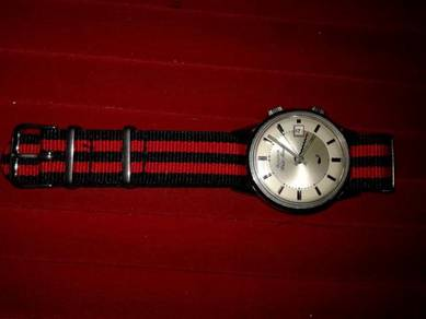 Vintage Bulova Wrist Alarm Watch