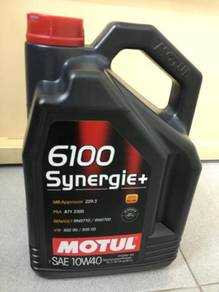 Motul 6100 Synergie+ 10W40 Synthetic Engine Oil 5L