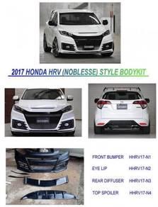 Honda hrv noblesse bodykit body kit Bumper spoiler
