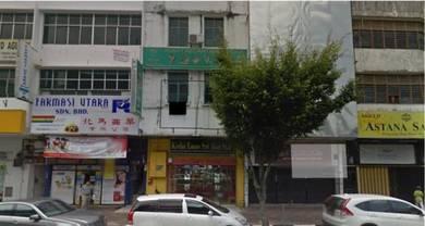 Shop house at Jalan Kota, Alor Setar. Town area