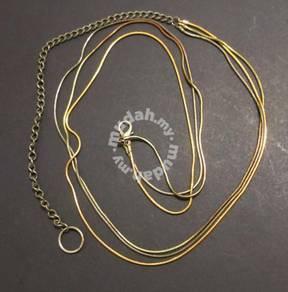 Adjustable 3-Strand Chain or Belt (1980s)