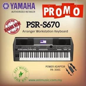 Portable Keyboard Yamaha PSR-S670 psrs670